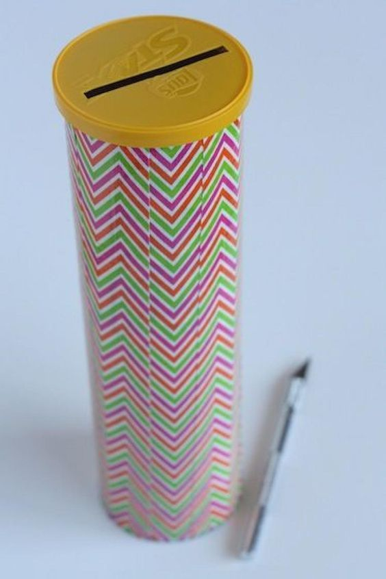 Pringles Dosen basteln: 101+ DIY Ideen zum Selbermachen