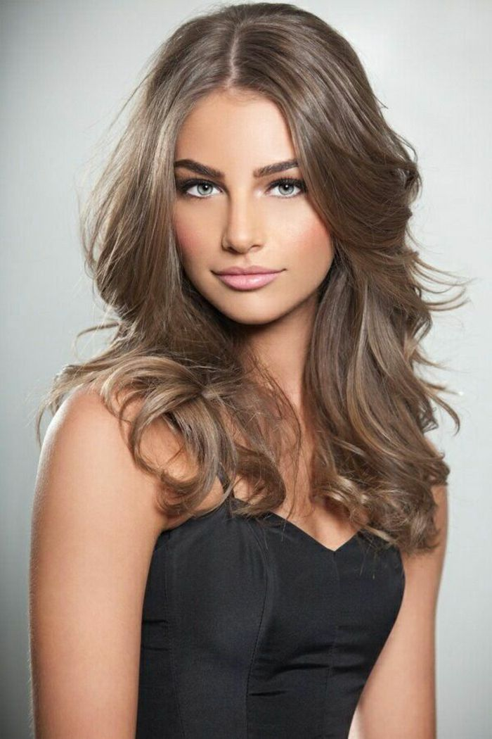 Couleur cheveux marron chatain