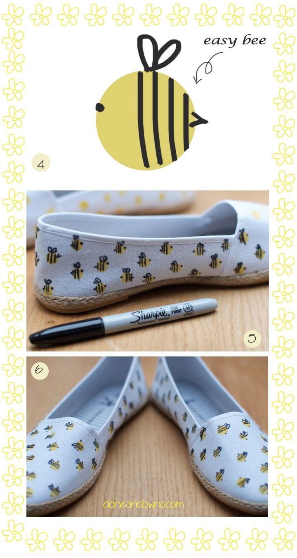 Fashion : DIY Bumble Bee Espadrills | DIY BLOGDIY BLOG