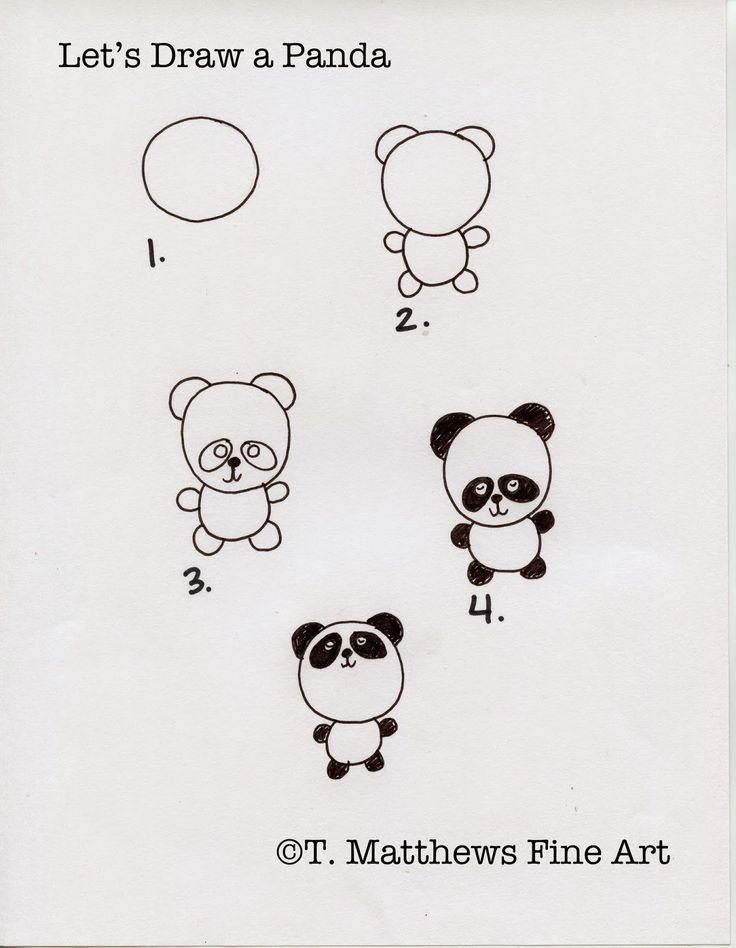die besten 25 panda zeichnung ideen auf pinterest tekenen pandab r und niedliche b r zeichnungen. Black Bedroom Furniture Sets. Home Design Ideas