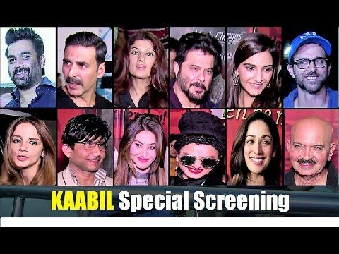 WATCH Hrithik Roshan, Yami Gautam host special screening of KAABIL | Full Uncut Video. Click to see full video >>> https://youtu.be/g7QEoe_apuI #hrithikroshan #yamigautam #kaabil #bollywood #bollywoodnews #bollywoodgossips #bollywoodnewsvilla