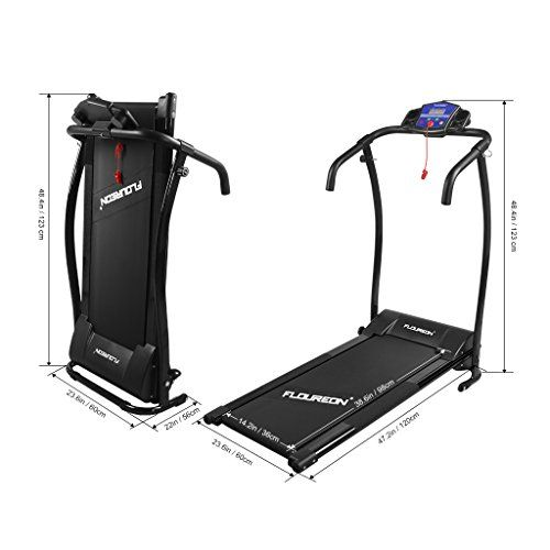 Instruction: ●Enjoy your workout time at home with this folding electric treadmill. Exercising in the comfort of your own home has never been<b