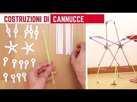 Come costruire di tutto con le cannucce: magia Strawbees! #strawbees #playtime #giochi #toy