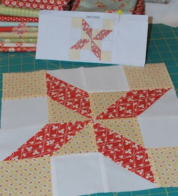 {Sisters and Quilters}: APPLE PIE IN THE SKY QUILT ALONG BLOCK 4