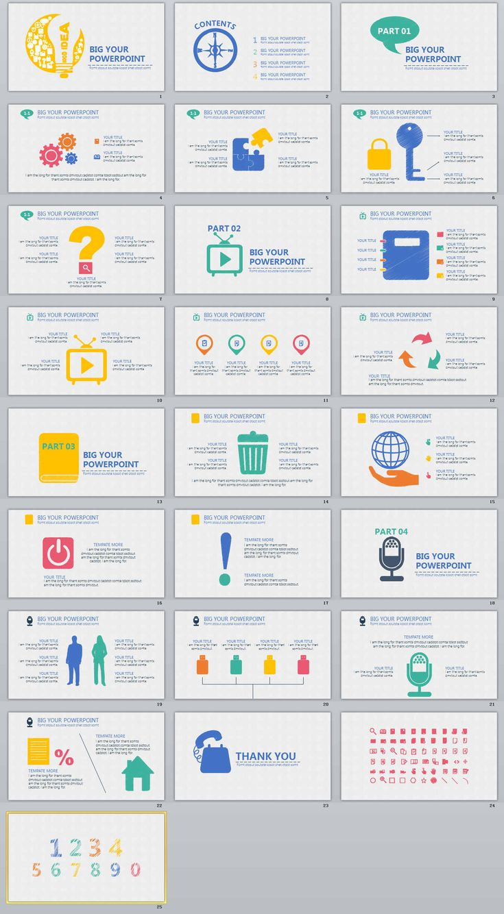 25+ Creative professional PowerPoint templates