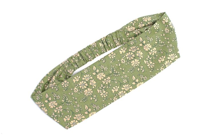 Liberty floral green hairband is great to keep your hair up and is SO pretty...
