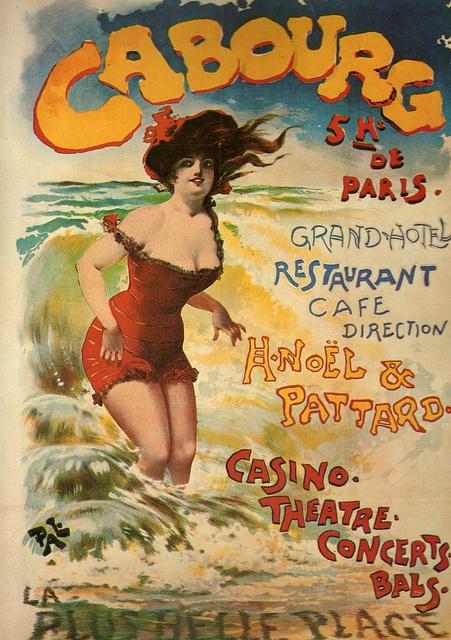 Cabourg (14) à quelques kilomètres du Domaine du Martinaa, ses gites, son parc animalier, sa piscine chauffée www.martinaa.fr