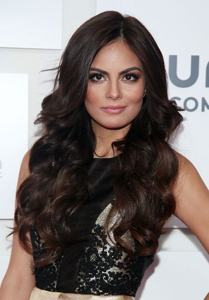 Jimena Navarrete - Arrivals at the Univision Upfront Event in NYC wauuuu top hair and make up ;) just beautifull