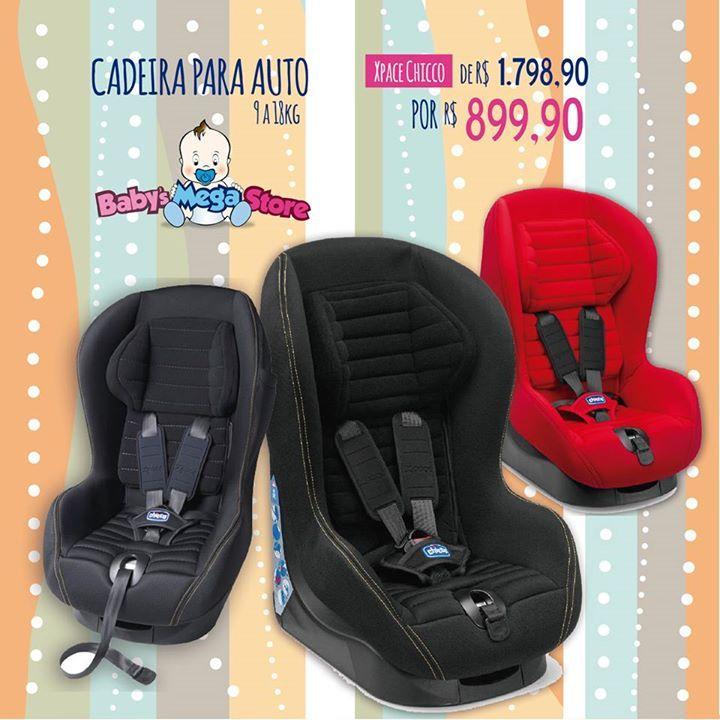 ⚡⚡ Super Promoção!!!⚡⚡ Cadeira para Auto, da Chicco, de R$ 1.798,90 POR R$ 899,90! 👶 A opção certa, confortável e segura para o seu bebê. A Xpace, da Chicco, é ideal para bebês de 9 a 18 quilos e conta com assento reclinável com 5 posições, cinto de segurança de 5 pontos, tecido removível e lavável. 😻😻 A cadeira está regulamentada dentro das Normas Europeias ECE R44/04, com selo de aprovação do Inmetro. ✅ A Xpace oferece conforto e proteção na medida certa. Seu design é adequado para…