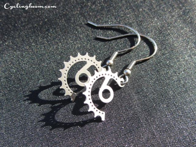 Cb Earrings | Cycling boom products | Inspired By Bicycle Sprocket