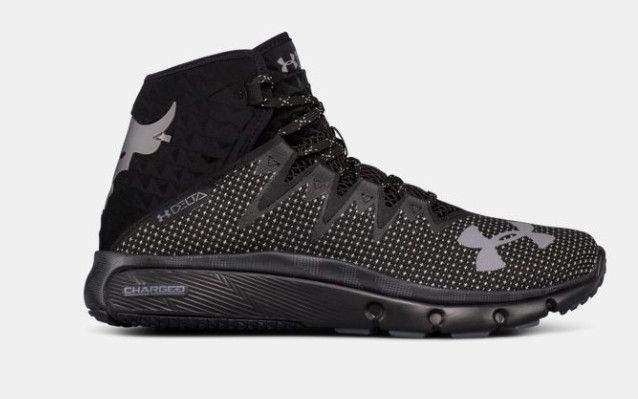 sports shoes a6a13 ba187 Dwayne  The Rock  Johnson s Signature Under Armour Shoe Dropped Today And  They Are Pretty