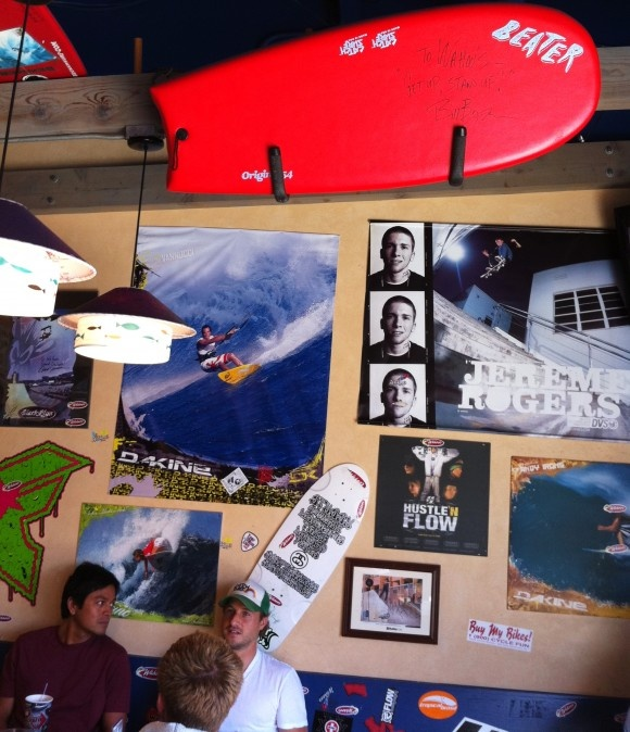 Beater Board at Wahoo's San Clemente!: Wahoo San, San Clement, Beaters Boards