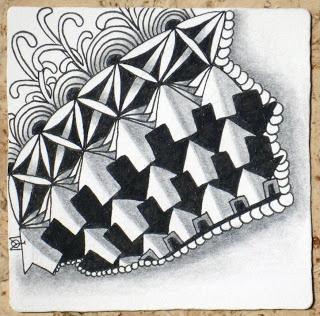 ZentangleZentangle Ii, Doodles, Zentangle Tile, Zendoo