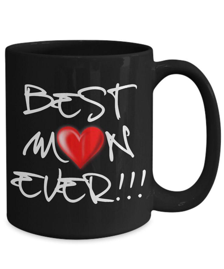 Amazon.com: Funny Coffee Mugs Mom – Best Mom Ever - 15oz ...