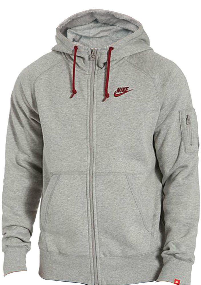 Nike Foundation 2 Mens Brushed Fleece Hooded Tracksuit Top