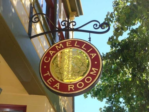 Camellia Tea Room, 828 First Street, 707.746.5293.  Darling tea room with the best teas, high tea, lunches. Lucky to have this wonderful tea room in town. Call for reservations.