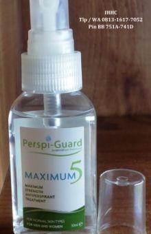 PERSPI GUARD Antiperspirant bisa seluruh titik keringat sekujur tubuh Rp 300rb  Pesan via BBM 5251 9E61 atau telfon/whatsapp 0813 1617 7052