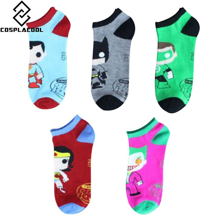 Batman Cotton Women And Men Socks - free shipping worldwide