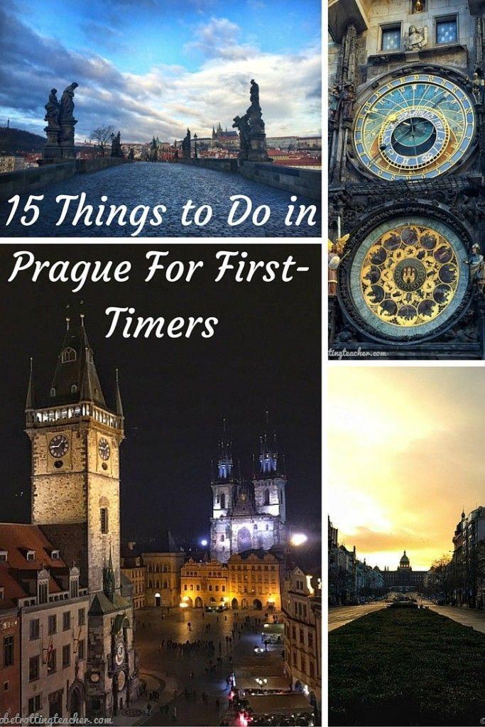 15 Things to Do in Prague For First-Timers