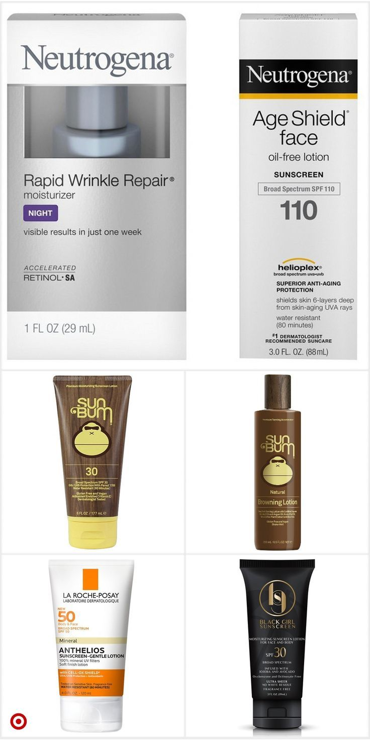 Shop Target for tanning in 2020 Face cream, Oil free