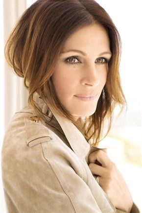 Julia Roberts great eyes-type shot with just the right muted colors, framing hair and reverse-9 composition,,,wdk