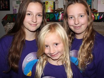 Wasaga sisters go under the scissors for charity | Wasaga Sun | October 27, 2014 #AngelHairforKids #donate #fundraise