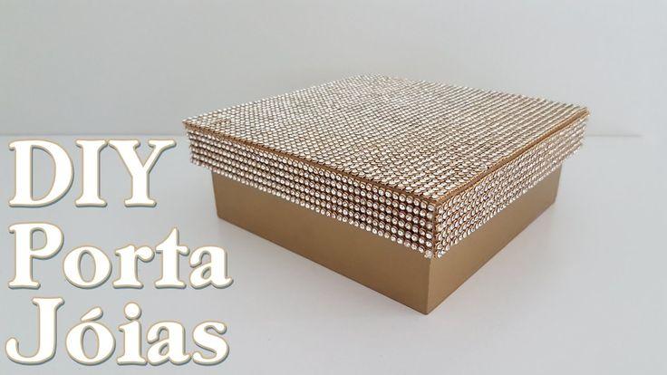 DIY   CAIXA PORTA JÓIAS + SORTEIO   ADRIANA NOVAES