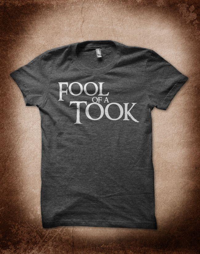 Fool of a Took #lotr #hobbit #design #tshirt
