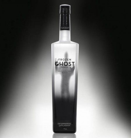 """Frozen Ghost Vodka Review Frozen Ghost vodka comes in a striking container with a shaded phantom pressing against the glass side. It calls itself the """"supernatural premium vodka"""" and features a striking little 2min commercial that is component tribute to horror film. #vodka #vodkabrands #bestvodkabrands"""