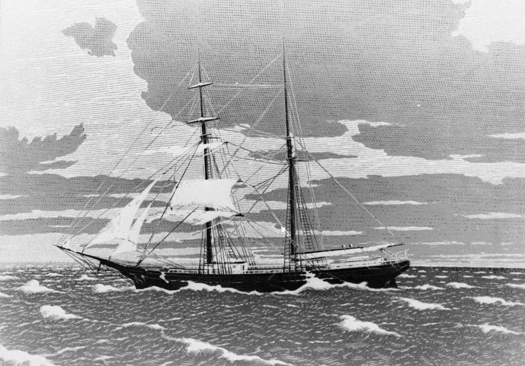 Mary Celeste - This North American ship left from New York with Genoa as destination, in 1872. However, it was found near the archipelago of the Azores in Portugal. There was no one on board. Even today it is not known what happened to the people who were on board the ship. © Getty Images