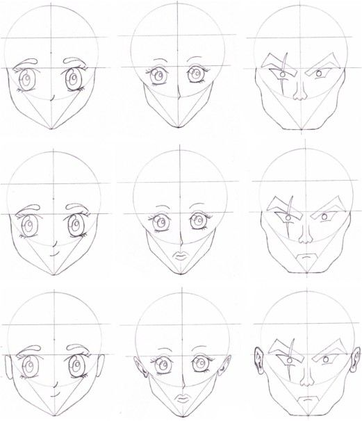 83 best how to draw anime images on pinterest drawing tips how to draw anime faces drawing nose mouth and ears ccuart Gallery