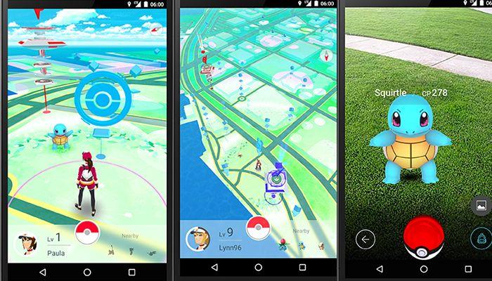 Niantic revela as primeiras imagens oficiais de Pokémon GO