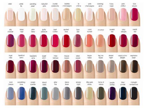 CND Shellac nail colors!