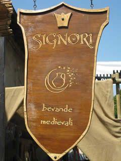 Siti Medievali: Signori Bevande Medievali