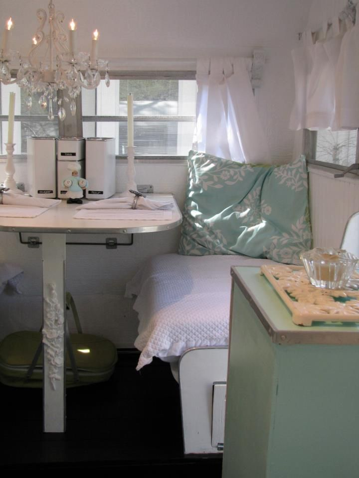164 Best Images About Vintage Trailer Interiors On Pinterest Cowgirls Vintage Trailers And