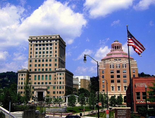 asheville friendliest small towns