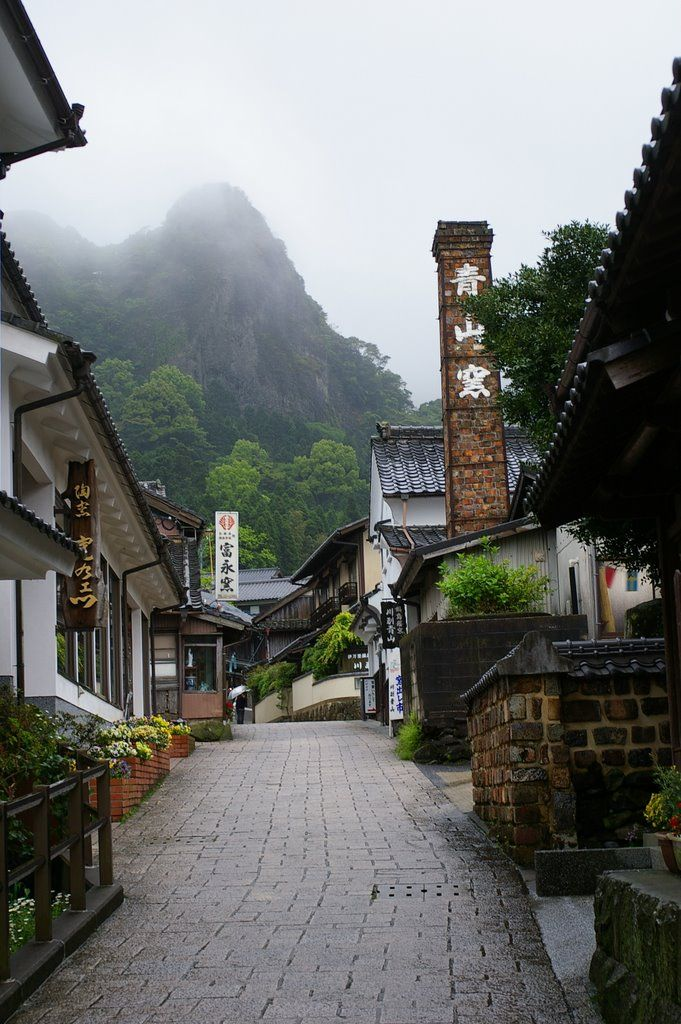 Ōkawachi, formerly a village, but now incorporated into port city of Imari, on the island of Kyushu, Japan