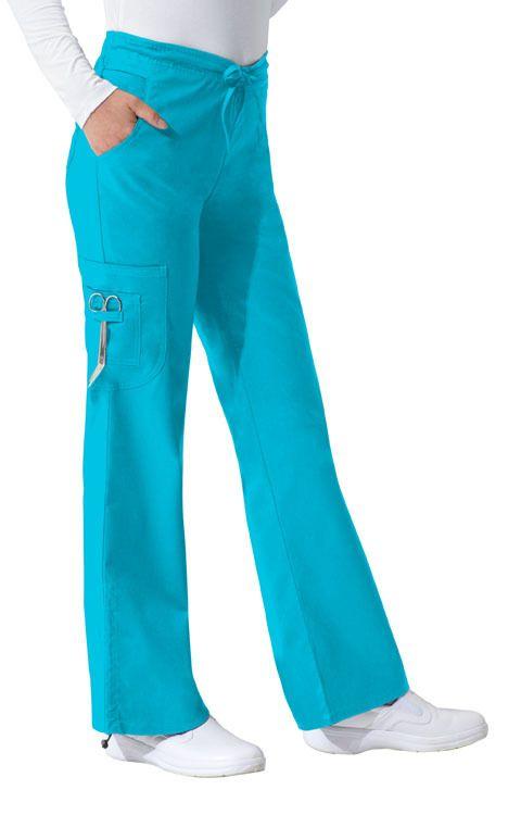 Dickies Medical 82002 ITQZ Pantalon Tipo Cargo con Jareta para Mujer - BODEGA DE UNIFORMES: DICKIES| CHEROKEE| GREY'S ANATOMY| HEARTSOUL| CODE HAPPY|IGUANAMED| SLOGGERS