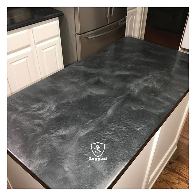 Check Out This Kitchen Countertop That Michael Did Using Our