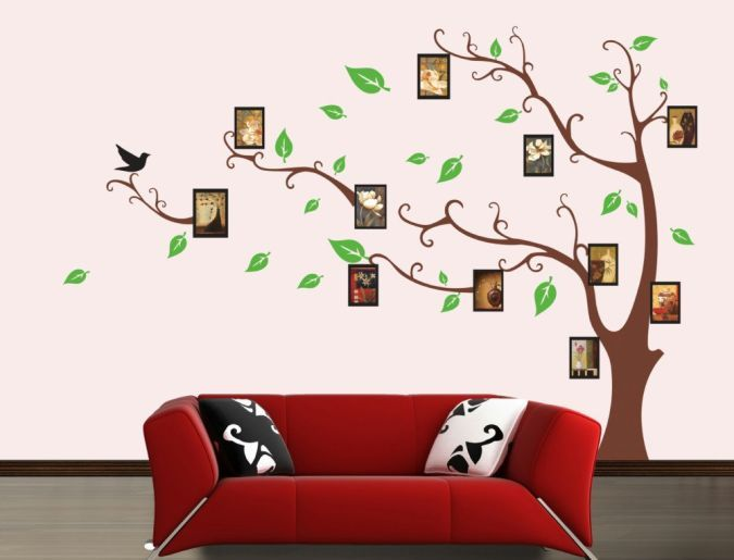 Amazing and Catchy Wall Stickers for Home Decoration
