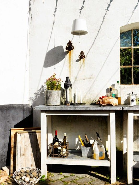 my scandinavian home: Could you while away summer days in this Swedish garden?