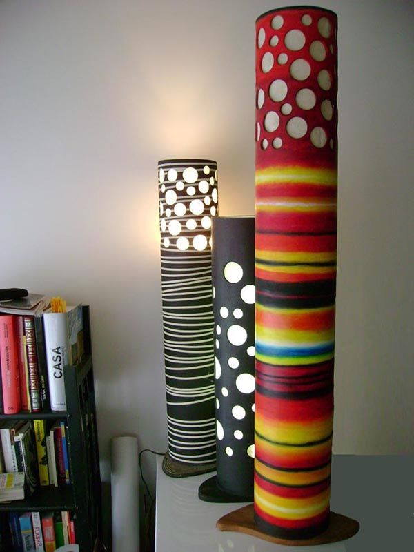 creations cardboard crafts crafts paper cardboard tubes crafts lamps