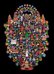 "Natural History Museum of Los Angeles - ""Grand Maestros: Great Masters of Iberoamerican Folk Art, Collection of Fomento Cultural Banames"" features work by roughly 600 artists. Nov 9 - Sept 13"