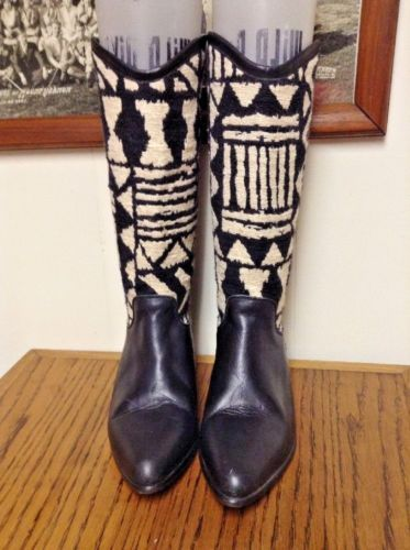Seychelles-Southwestern-Tapestry-Leather-Indian-Blanket-Cowboy-boots-black-5-5-m