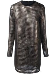House Of HollandChainmail dress, Womens, Size: 8, Grey