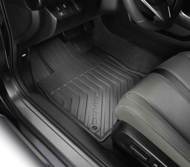 2016 2020 Civic Sedan Hatchback All Weather Floor Mats 4 Piece