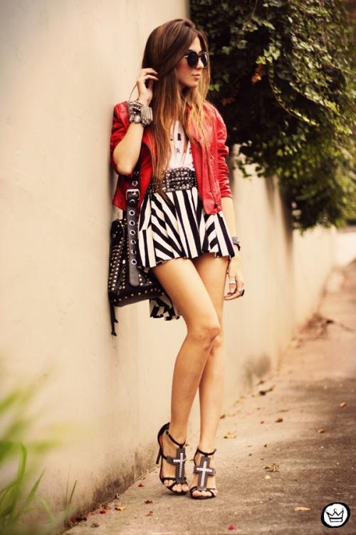 FashionCoolture - 28.05.2013 look du jour MiniMinou stripes Romwe jacket tshirt (7)