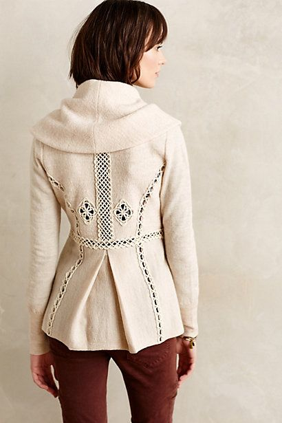 Soutache Trim Jacket anthropologie