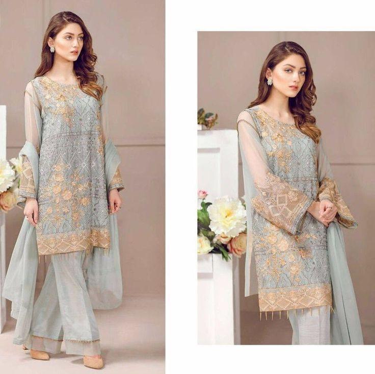 Indian Salwar Kameez Designer Punjabi Suit pakistani Shalwar readymade size L XL #handmade #SalwarKameez