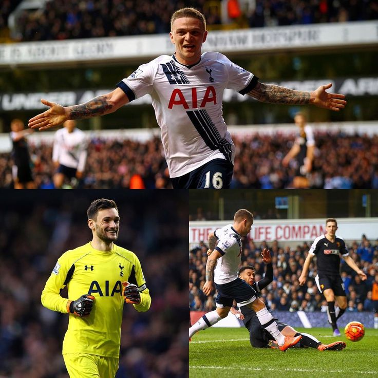 """A huge 3pts as Kieran Trippier's first goal for the Club seals all a 1-0 win against Watford! #COYS #THFC"""